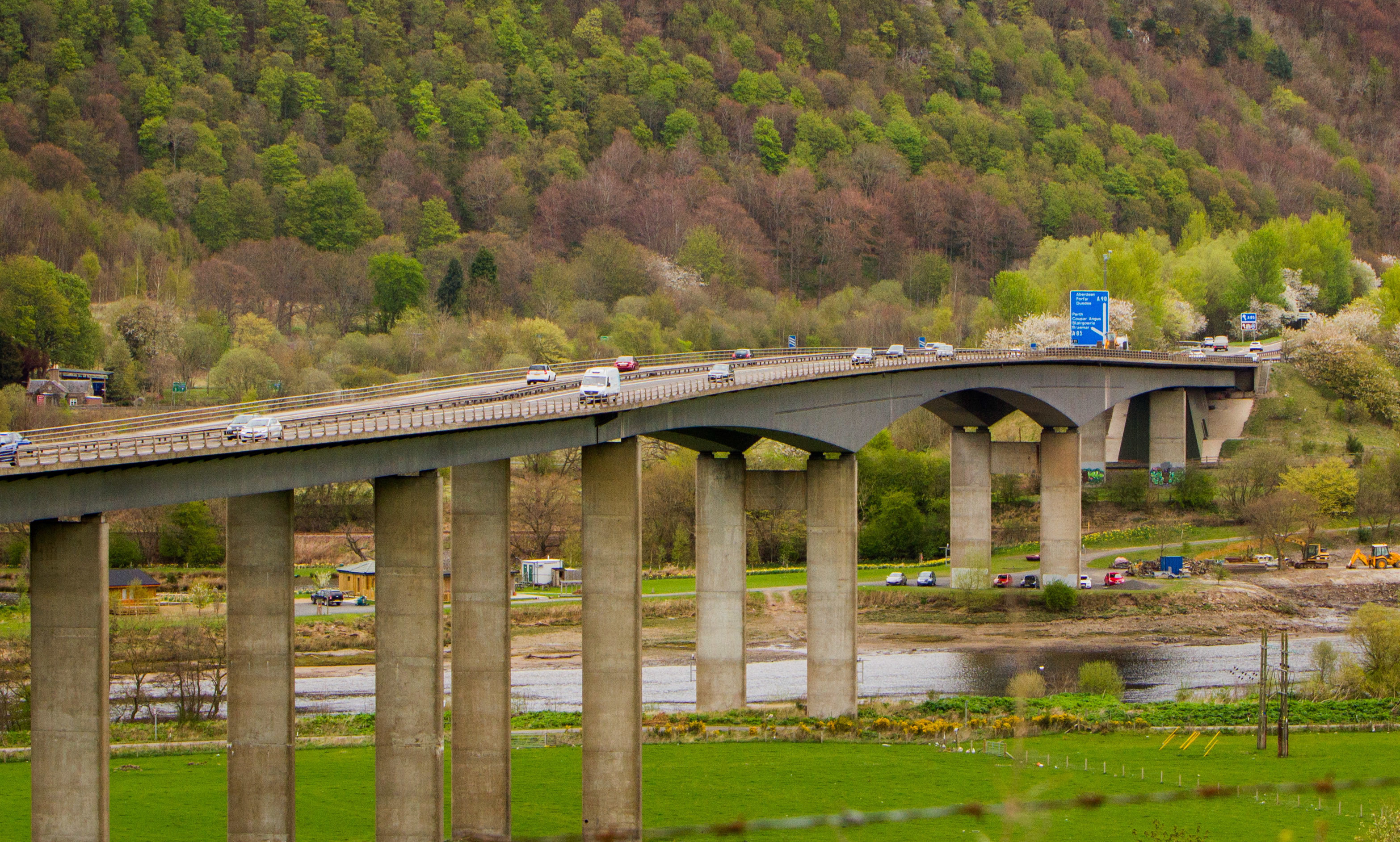 Friarton Bridge.
