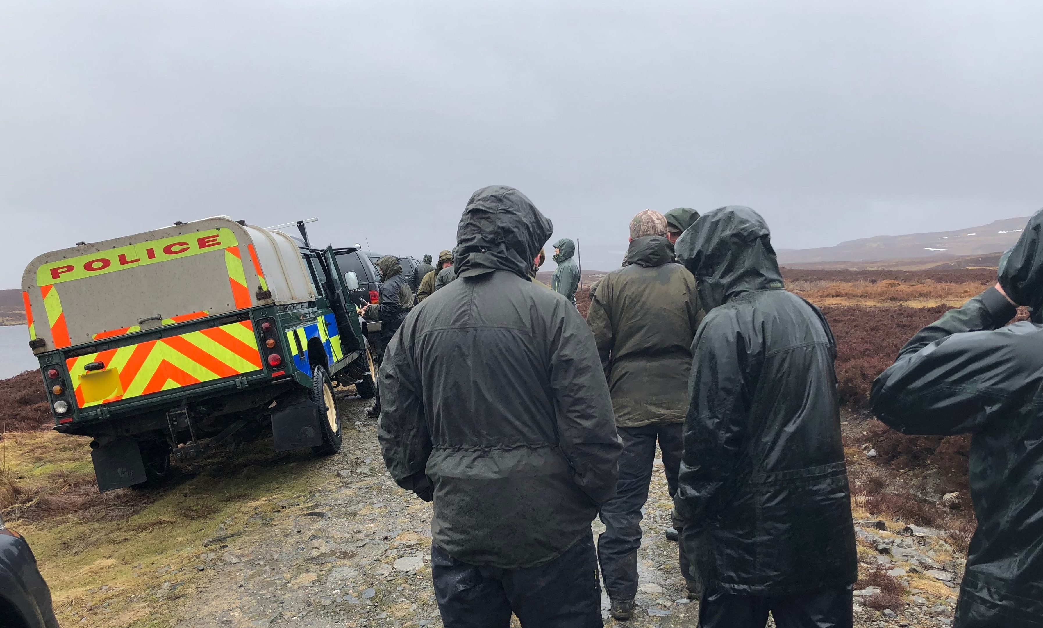 Gamekeepers help with Police Scotland search for missing sea eagle