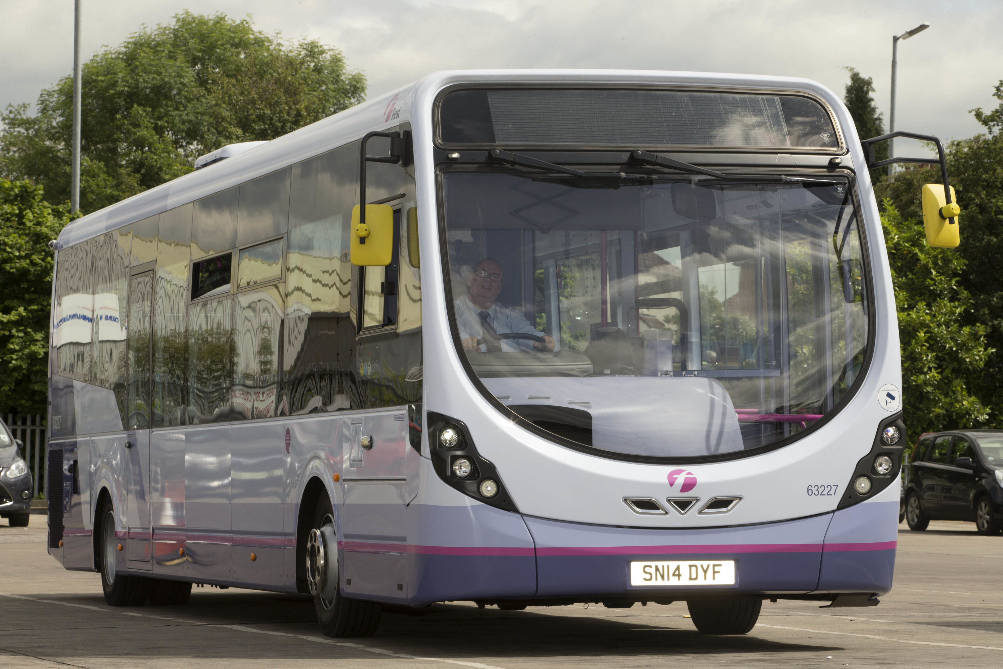 FirstGroup's operations include bus, coach and rail  services