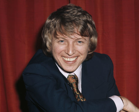Tommy Steele pictured in 1971.