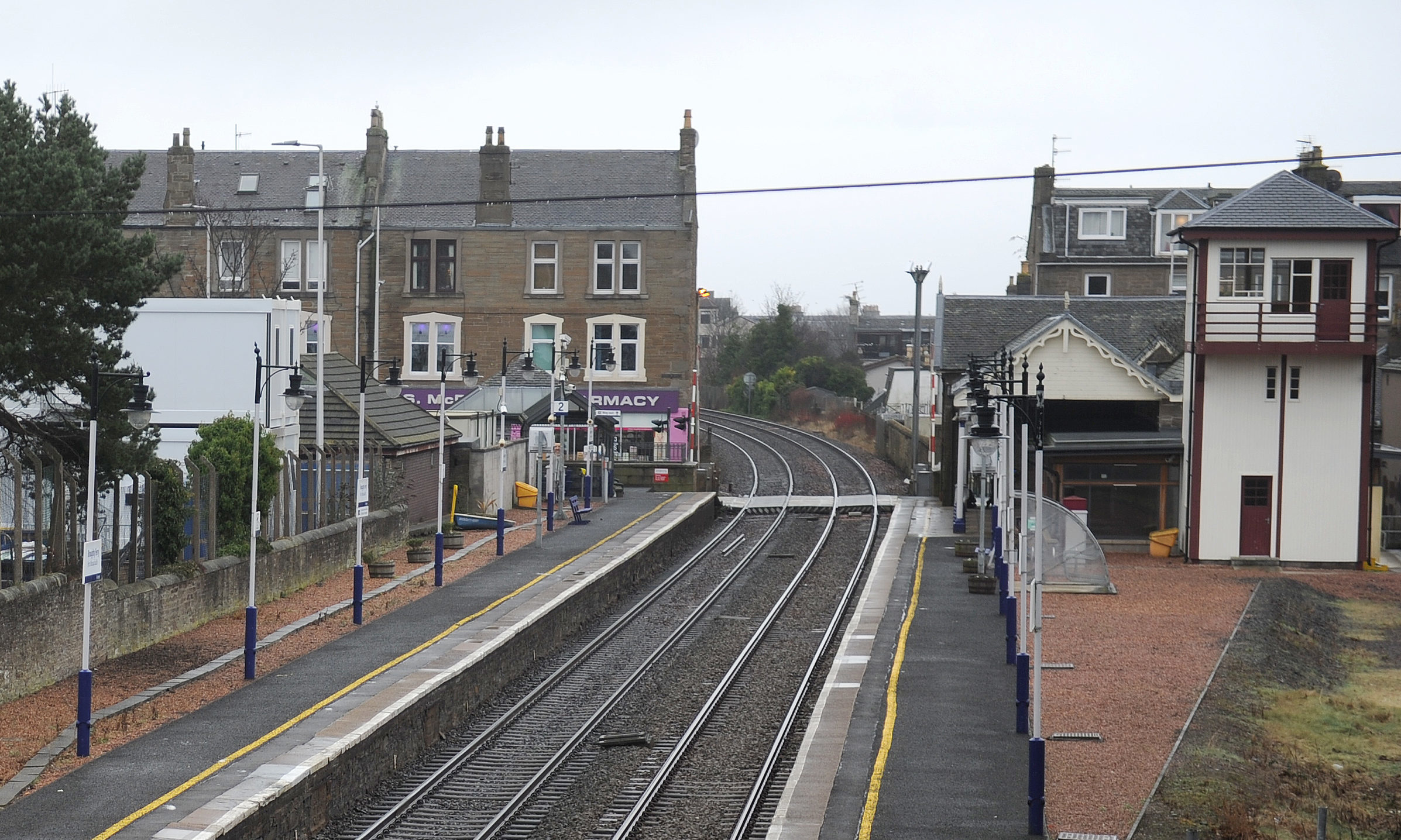 Broughty Ferry Railway Station.