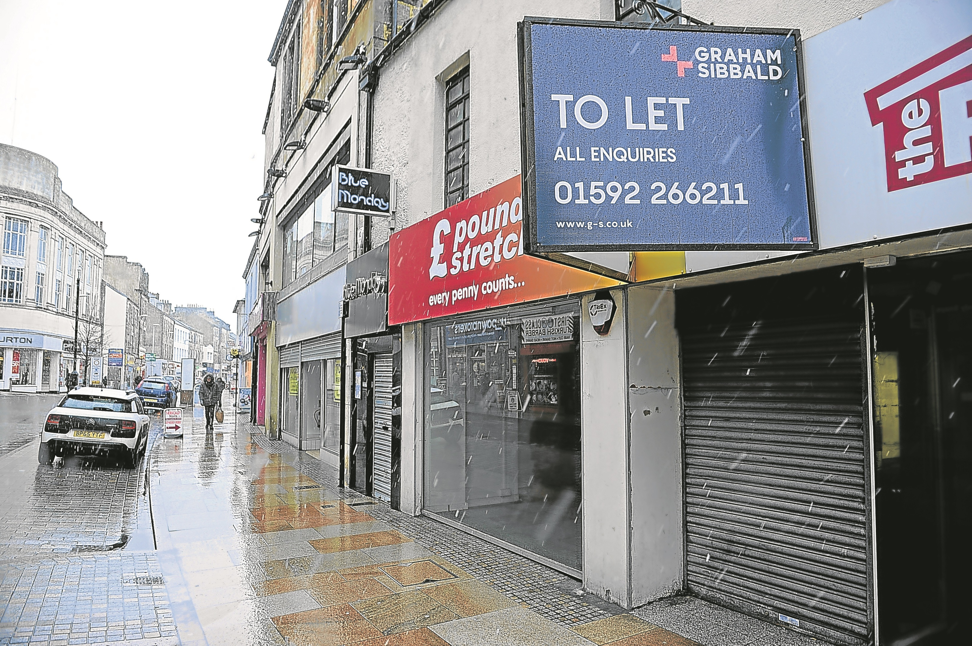 Kirkcaldy High Street has suffered of late.