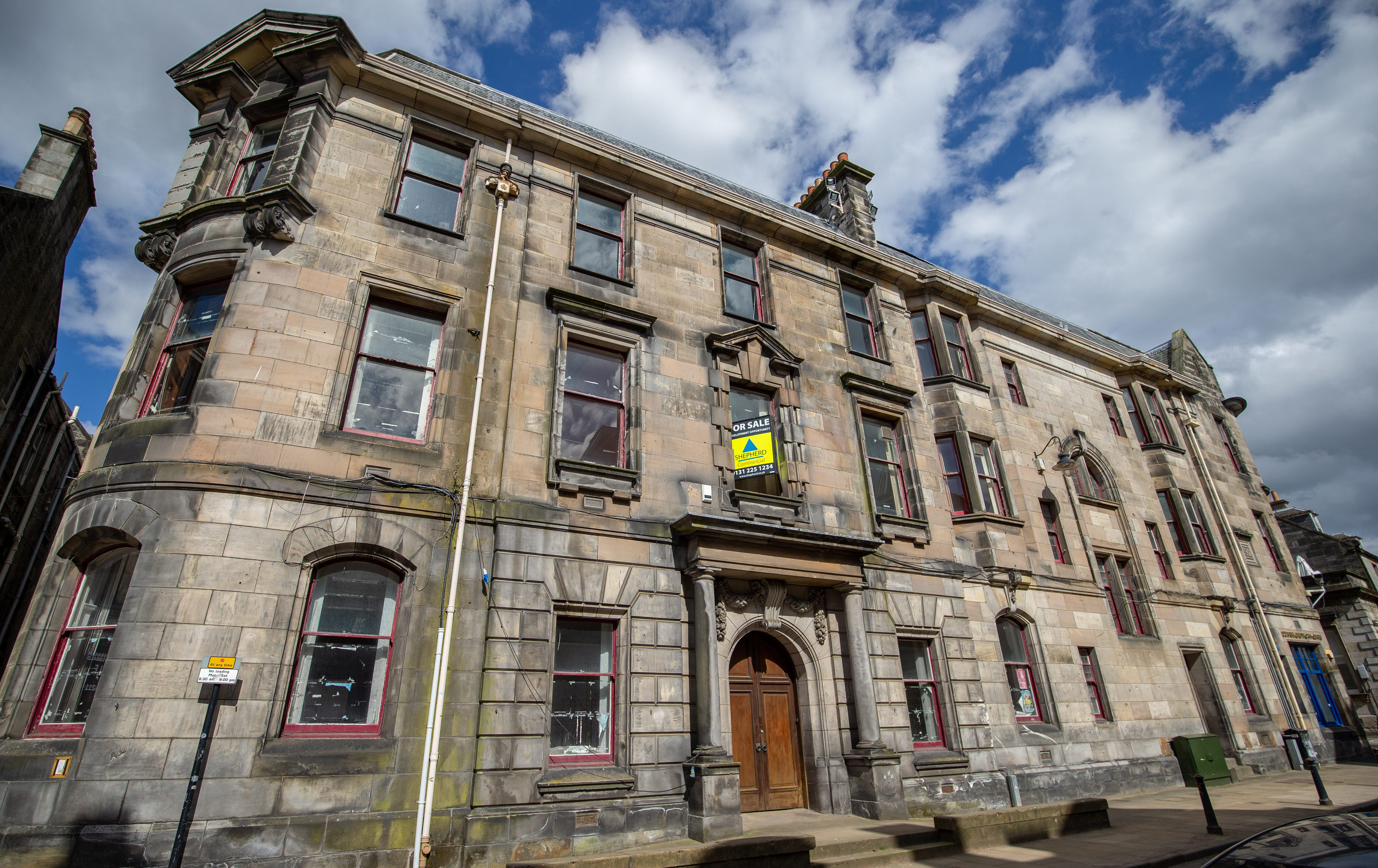 The former registry offices, Dunfermline