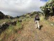 Robin exploring El Hierro on foot.
