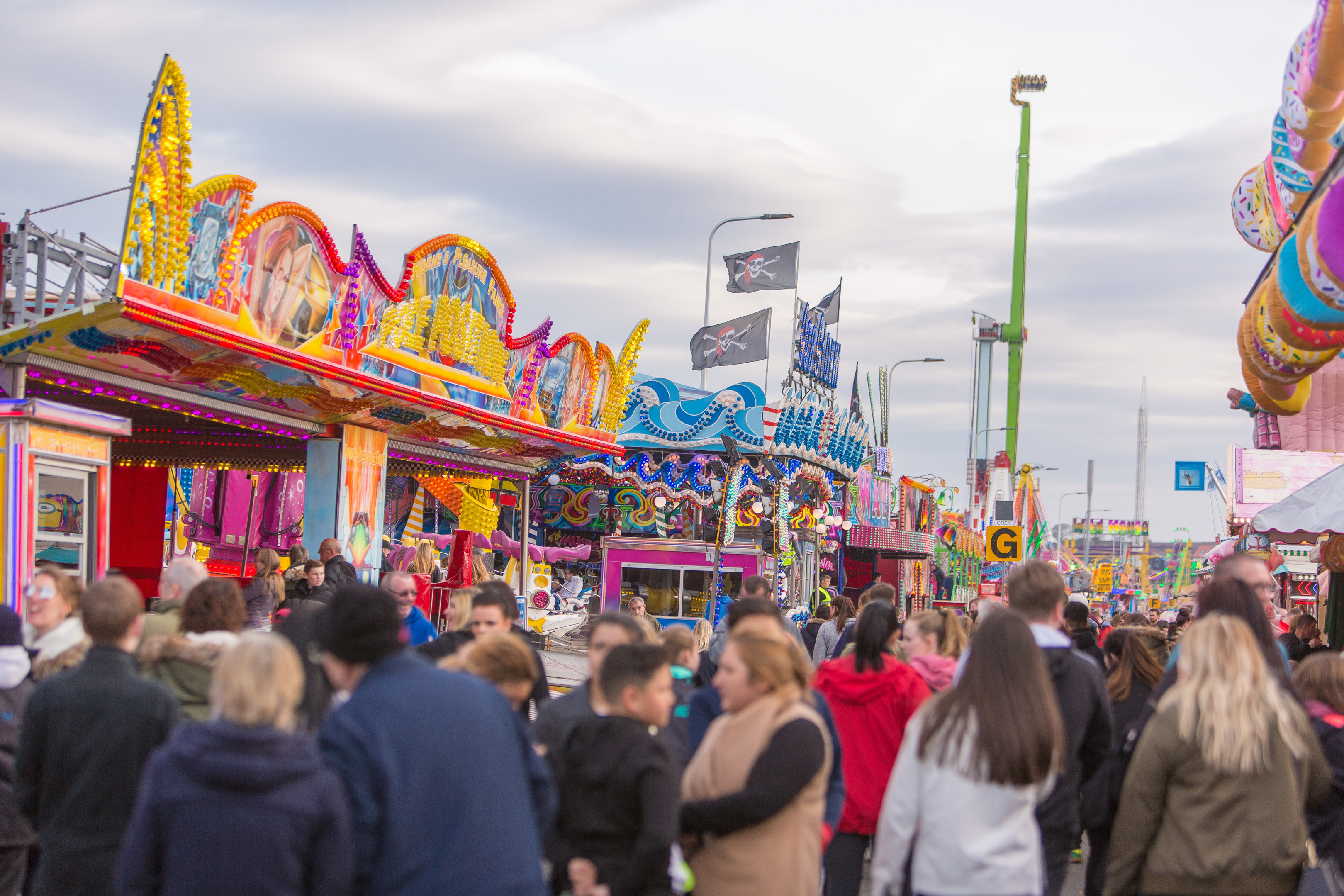 Thousands of people visit the open air Links Market in Kirkcaldy.