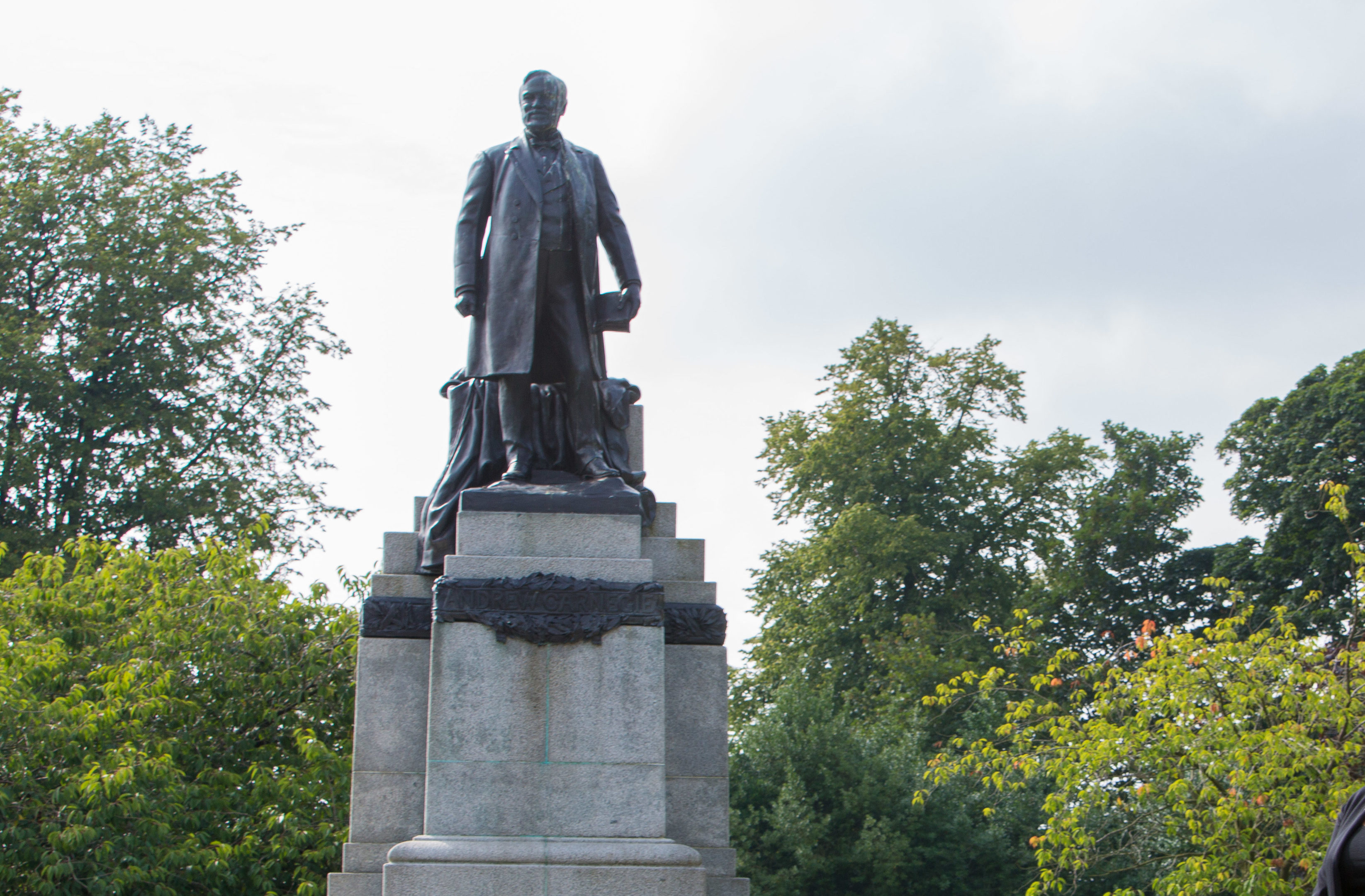 The statue was vandalised on March 31