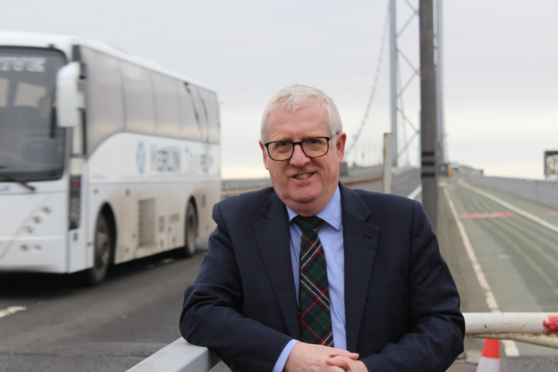 Mr Chapman wants to see busy buses using the public transport corridor