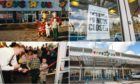 Photos from Toys R Us Dundee's opening in 1996 and the closed down store this week.
