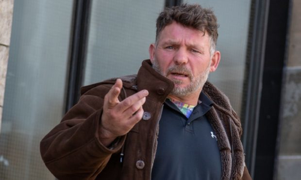 William McPhee, 49, admitted hare coursing at Glenrothes Airport
