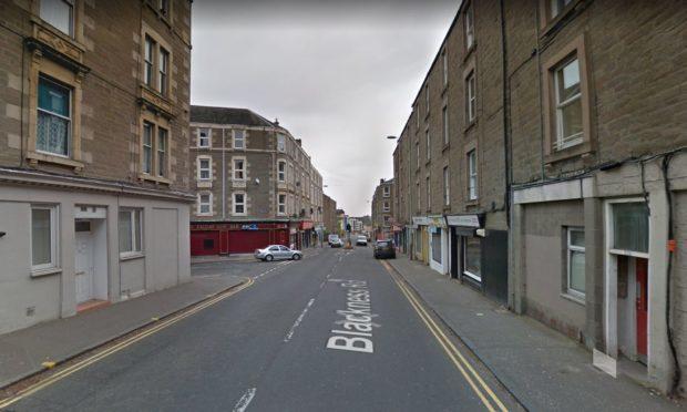 Blackness Road at Rosefield Street