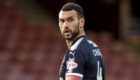 Steven Caulker in action for the Dark Blues