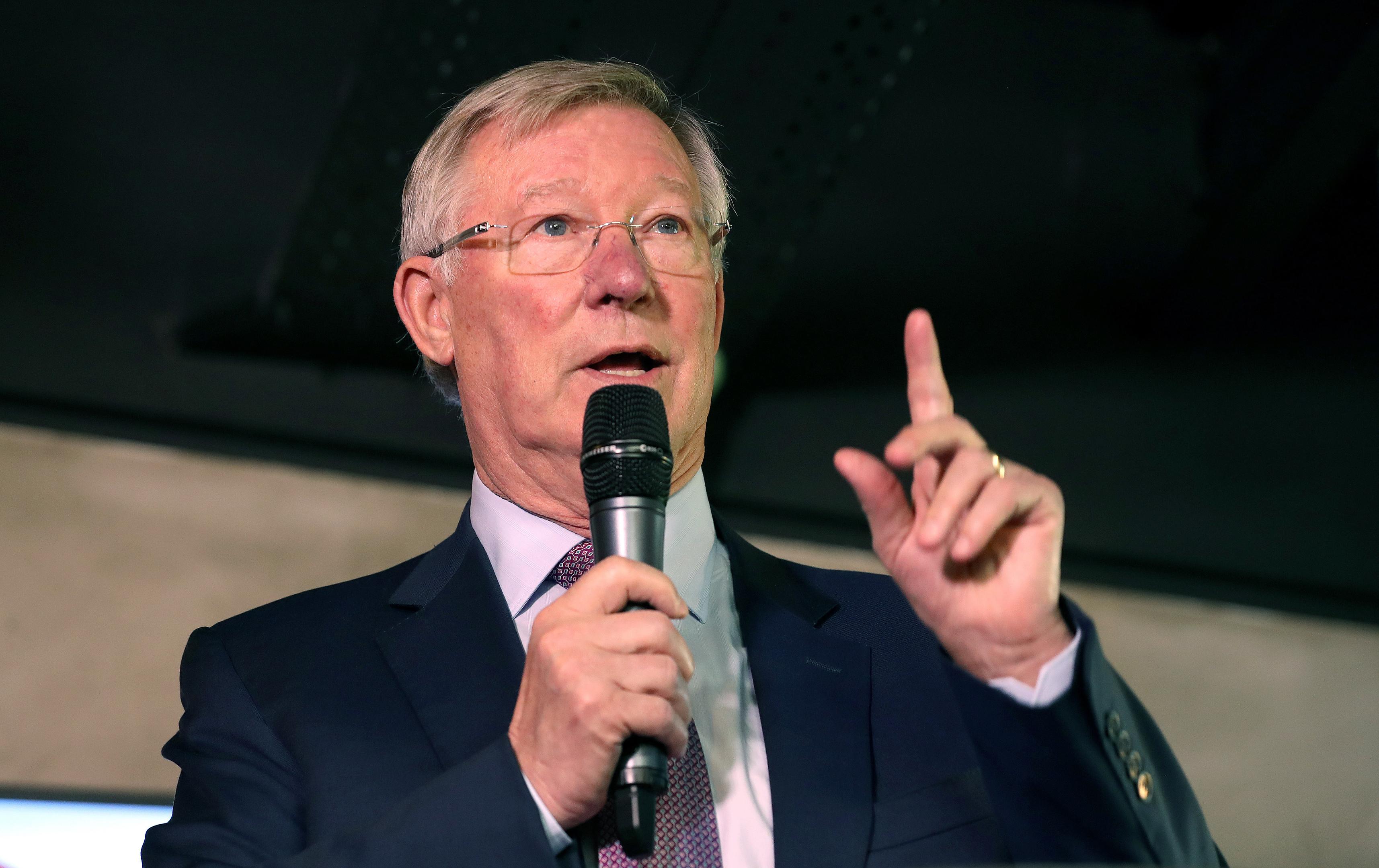 Sir Alex Ferguson.