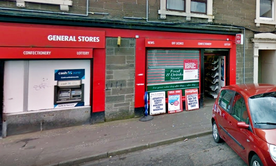 The General Stores in Dundonald Street.