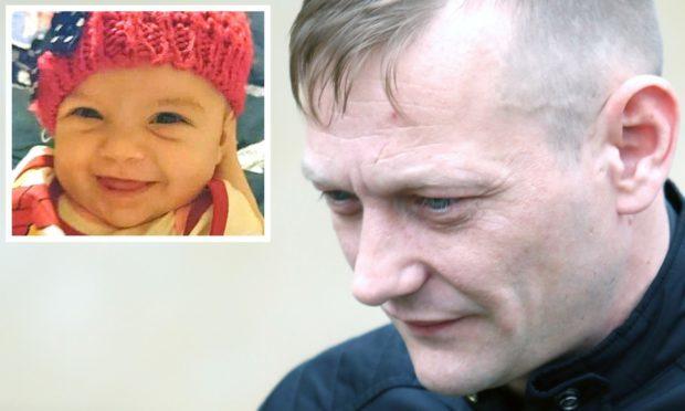 Gordon McKay and (inset) little Hayley Davidson.