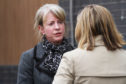 Health Secretary Shona Robison held a board meeting at Ninewells on Monday