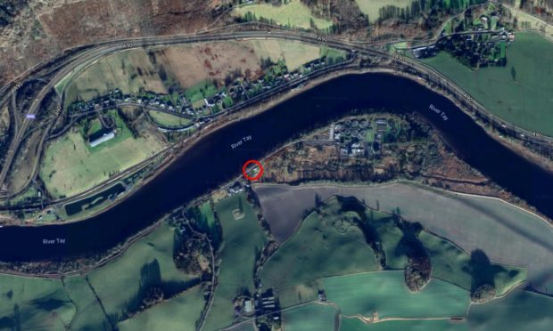The Tay Rowing Club's base.