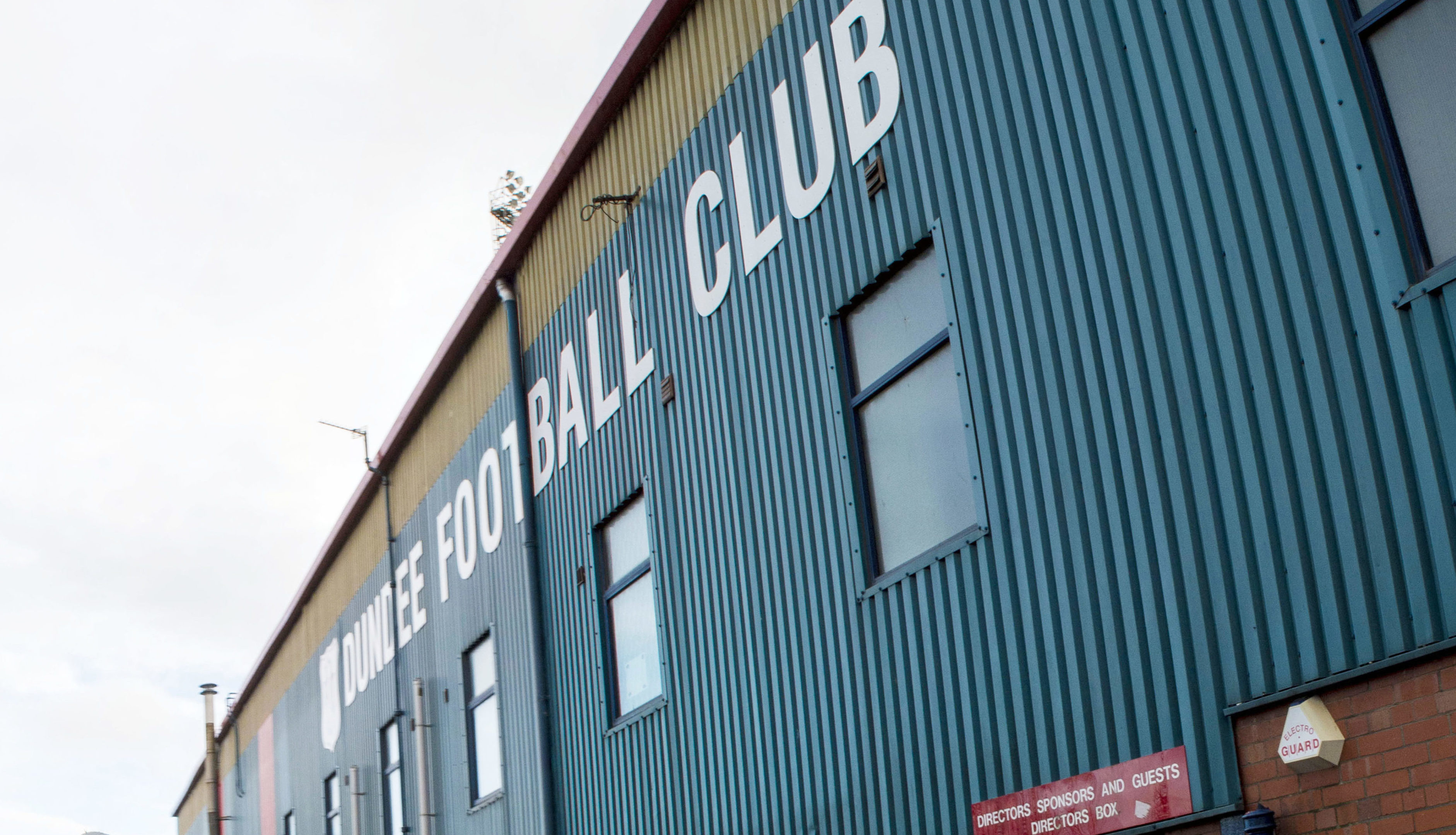 Hampden chiefs were told of Dundee's decision this afternoon