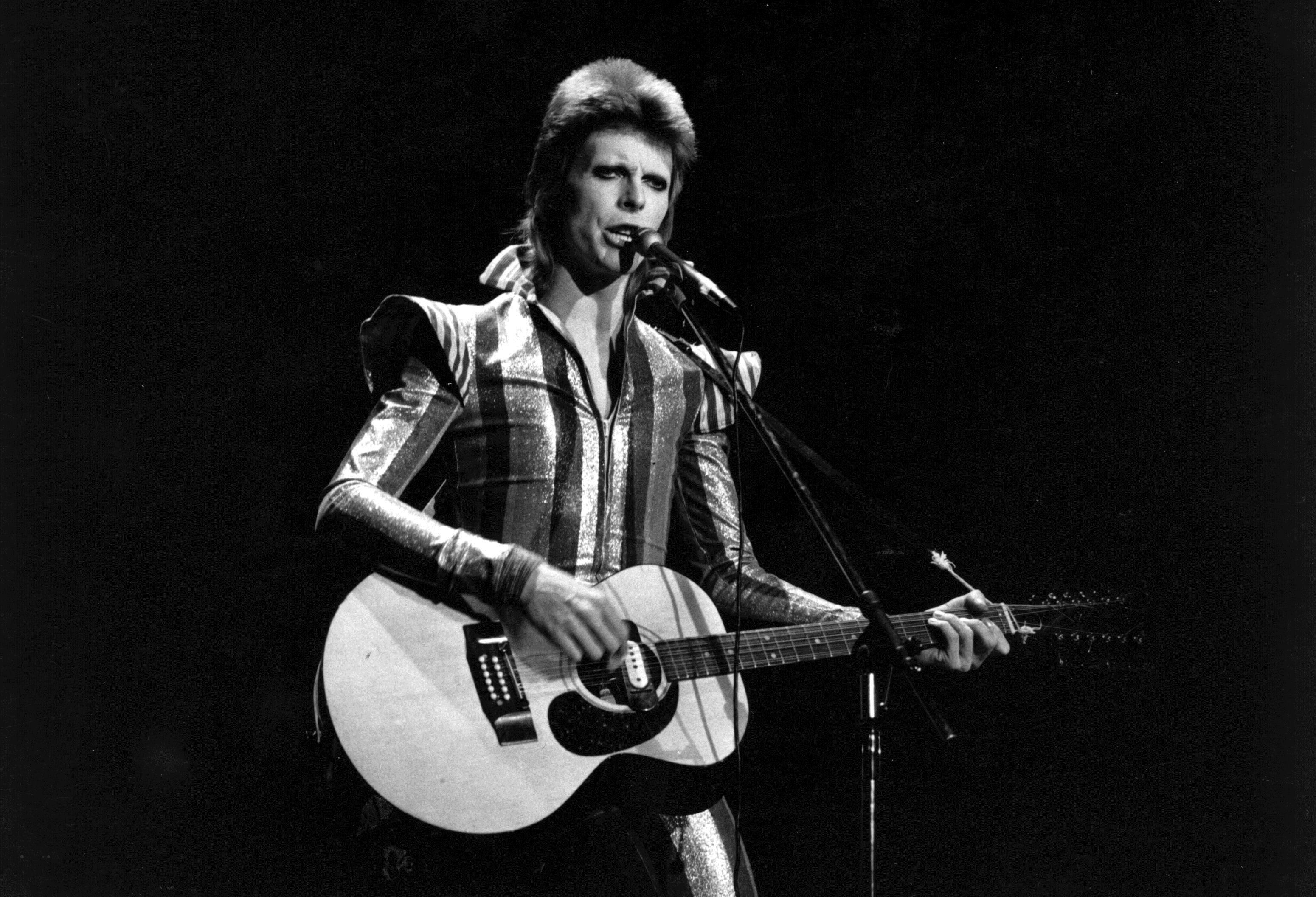 David Bowie played a famous gig at the Caird Hall in 1973.