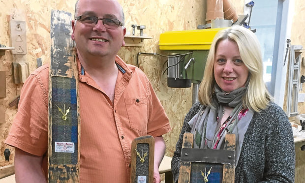 Kevin Fleming and Tracey Hinds of Little Thistle.