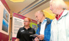 A consultation event for the Neart Na Gaoithe wind farm off Fife Ness last year