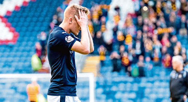 Raith Rovers' Euan Murray at full-time.