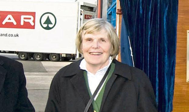 Mrs Joan Scott-Adie has been named  Life President of CJ Lang & Son Ltd.