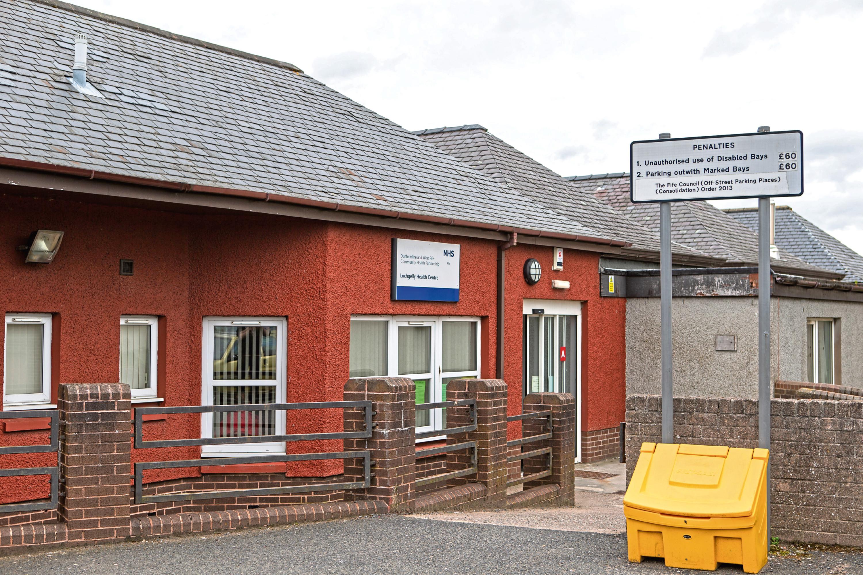 Lochgelly Health Centre.