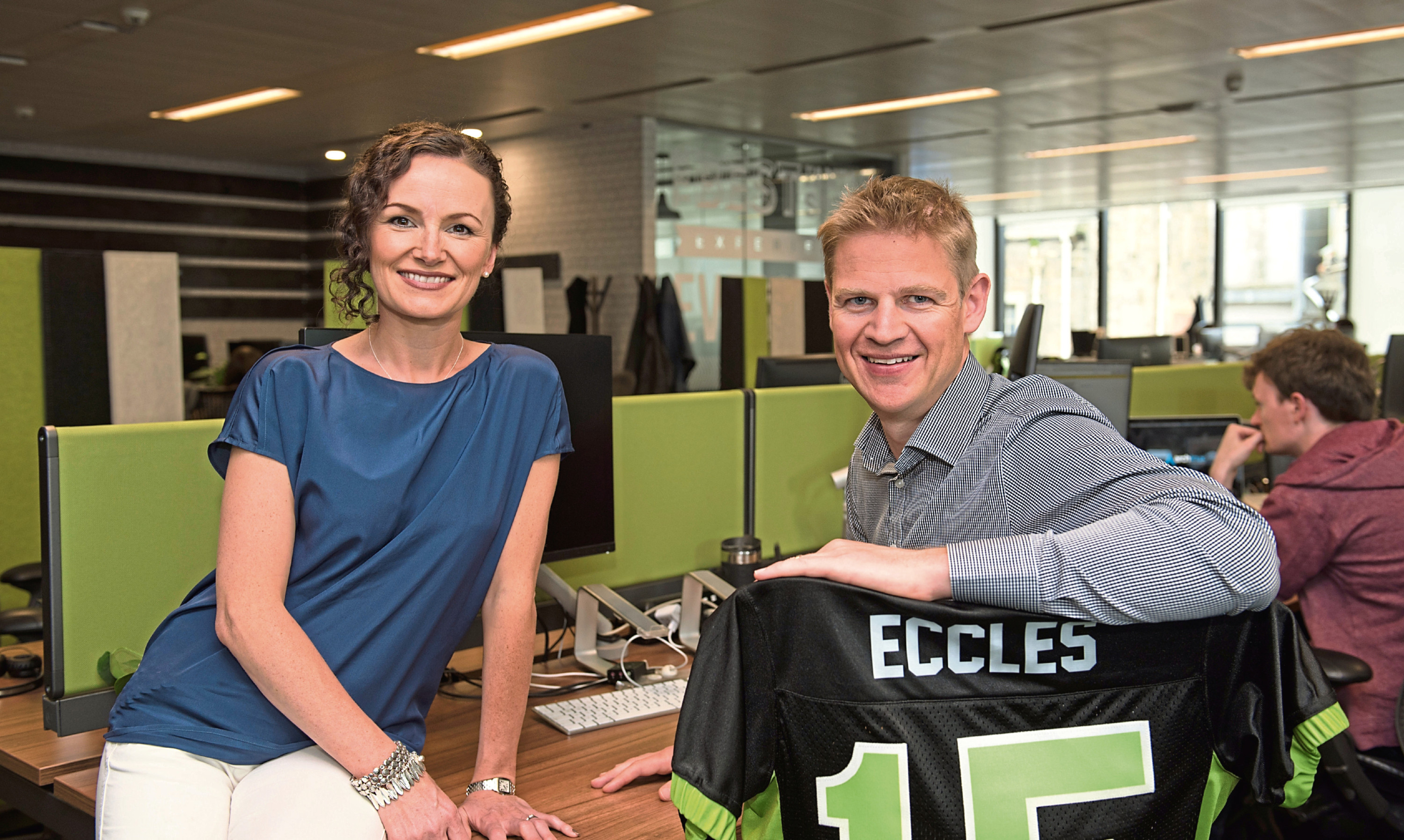 FanDuel founders Lesley and NIgel Eccles