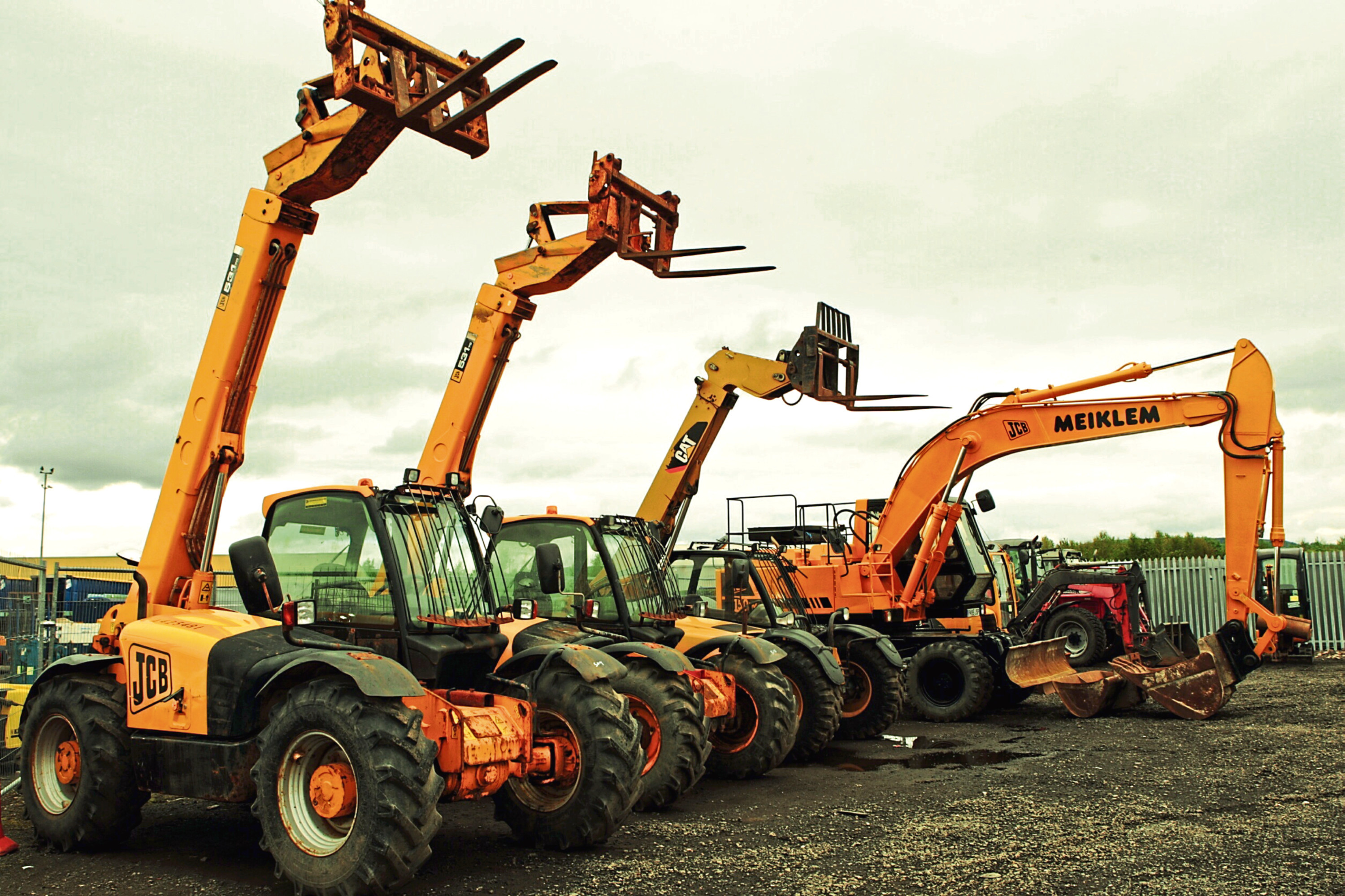 Morris Leslie group's fleet of industrial vehicles extends to more than 5,000 assets.