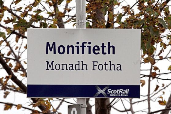 Monifieth rail station