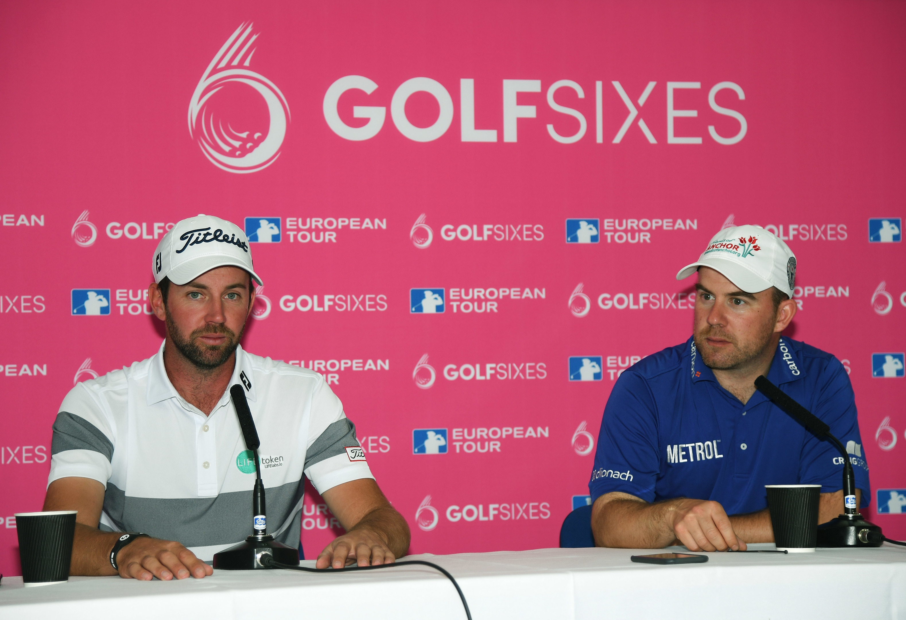 Scott Jamieson and Richie Ramsay are representing Scotland in this weekend's Golf Sixes.