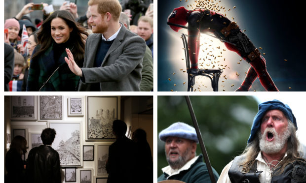 There's plenty to do across Courier Country as an alternative to watching the Royal Wedding.