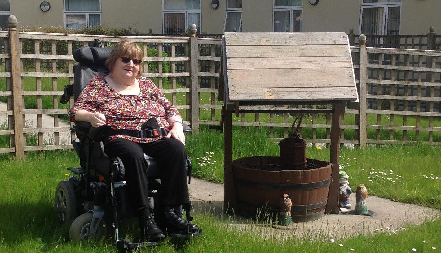Anne Gourlay at Adamson Hospital in Cupar.