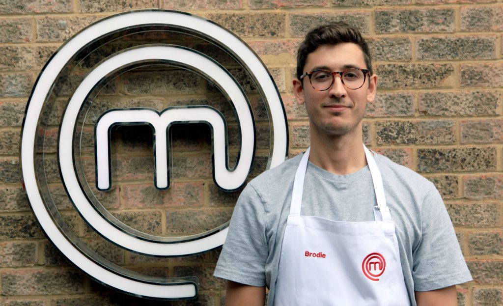 Brodie Williams from Cupar made it through to the semi-finals of BBC MasterChef