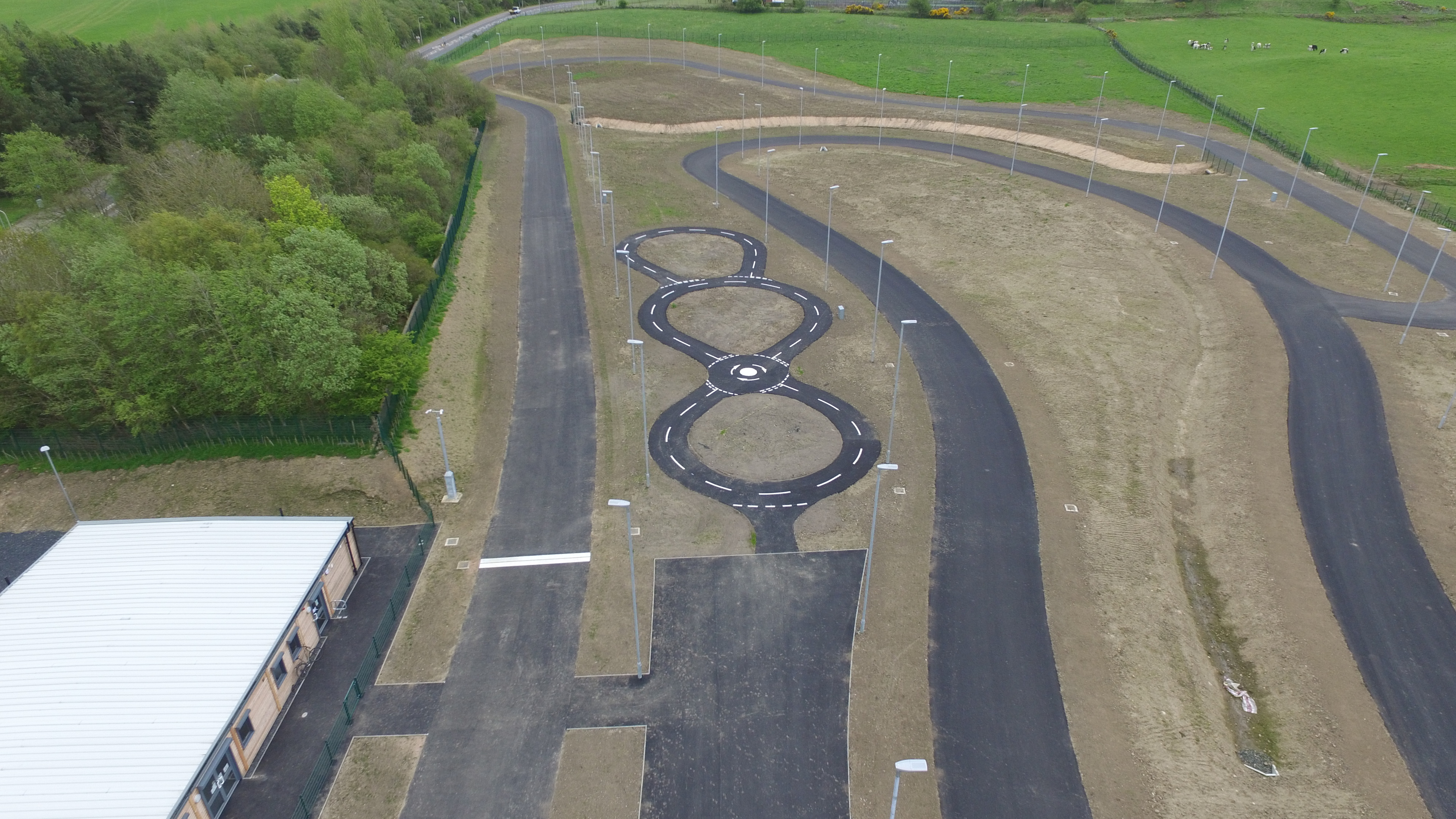 The circuit offer a range of different tracks for cyclists of all abilities.
