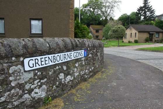 The sheltered housing at Greenbourne Gardens in Monifieth.