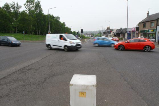 Dangerous junction's under review in Dunfermline