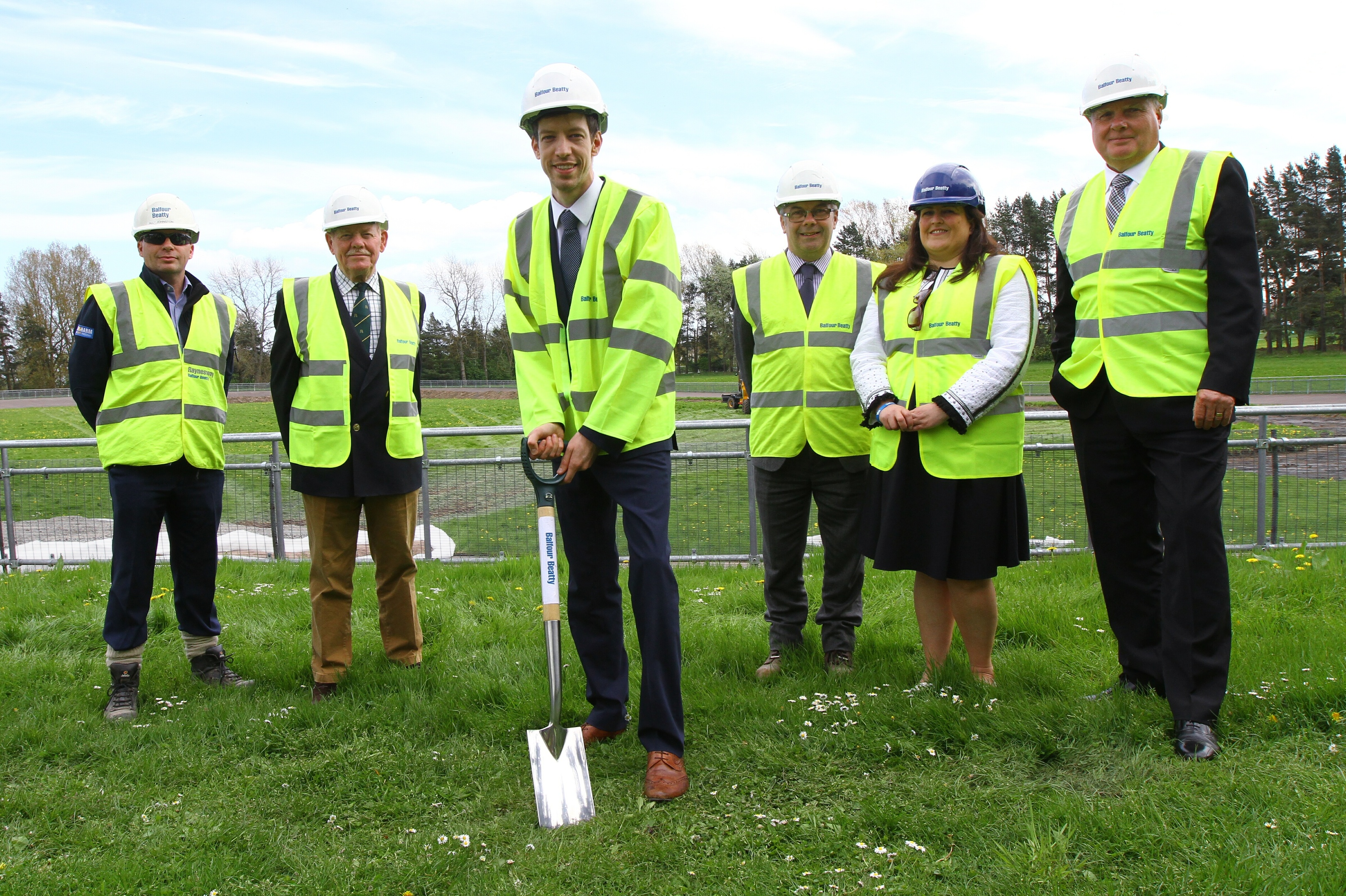 Officials heralded the beginning of construction of the new centre