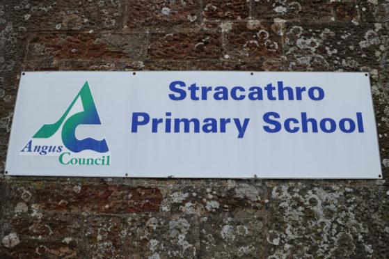 Stracathro Primary School.