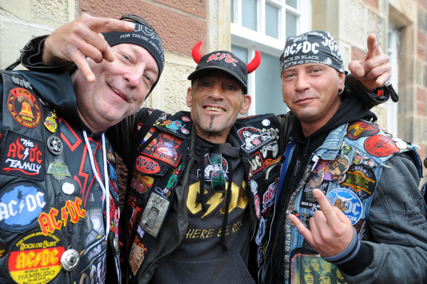 Crazy Dirk Foschke, Daniel-Uwe Pakulla and Martin Pollinger