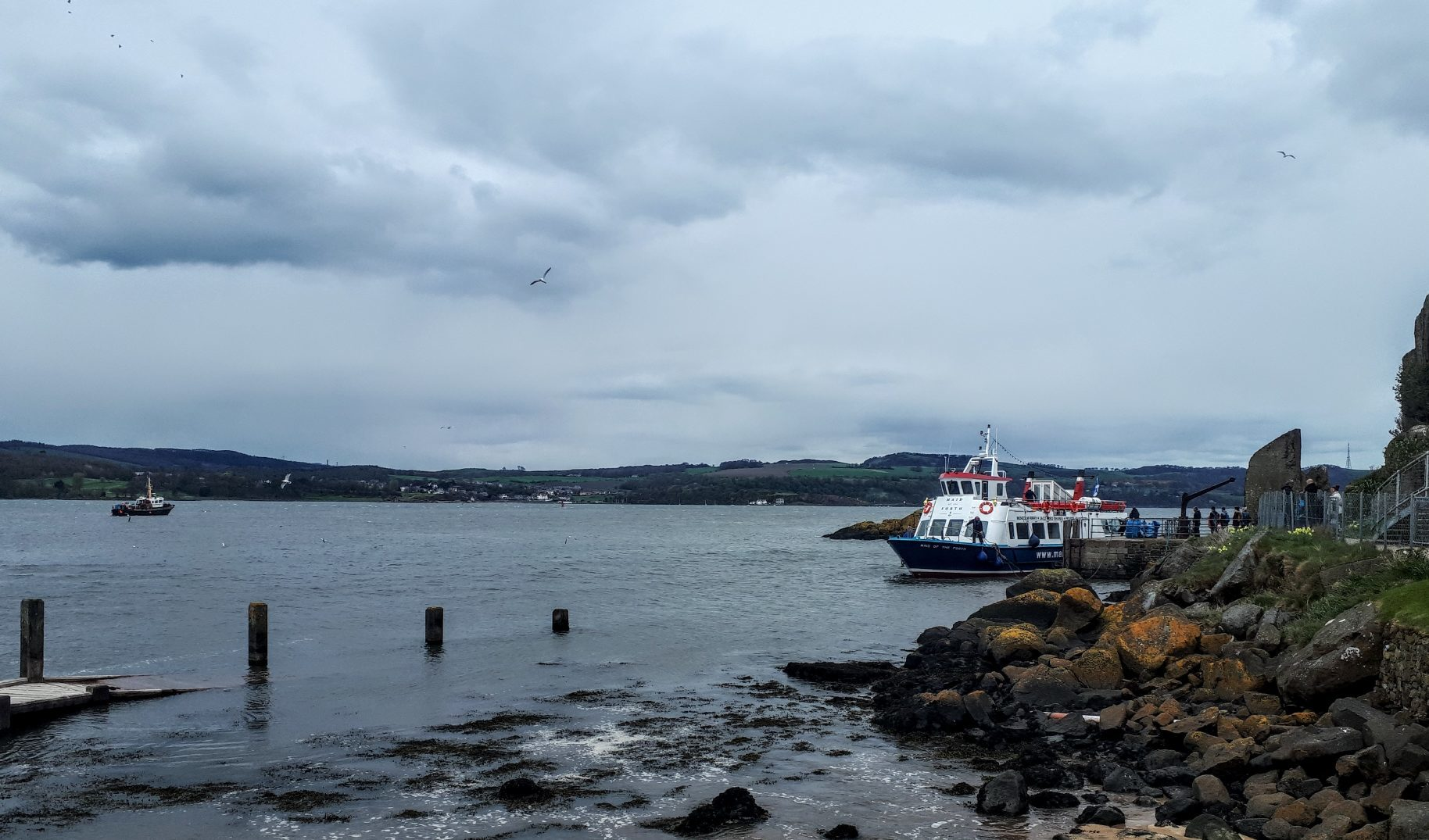 A Maid of the Forth trip to Inchcolm.