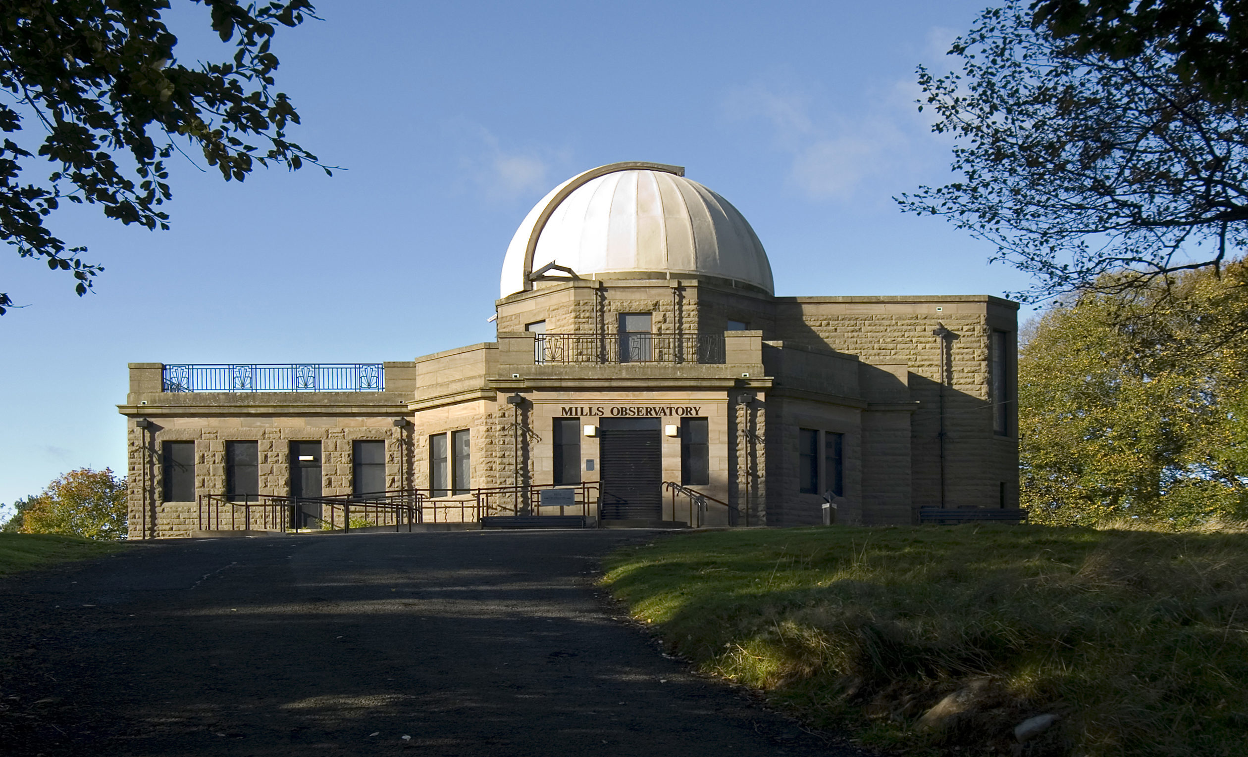 Mills Observatory dates back to 1935.