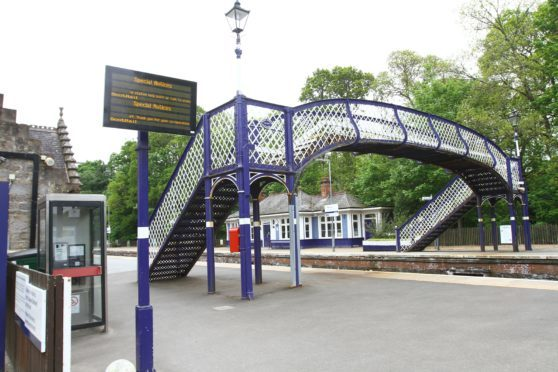 The platform at Pitlochry will be extended under the improvement scheme