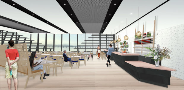 The second floor restaurant will offer stunning views over the River Tay.