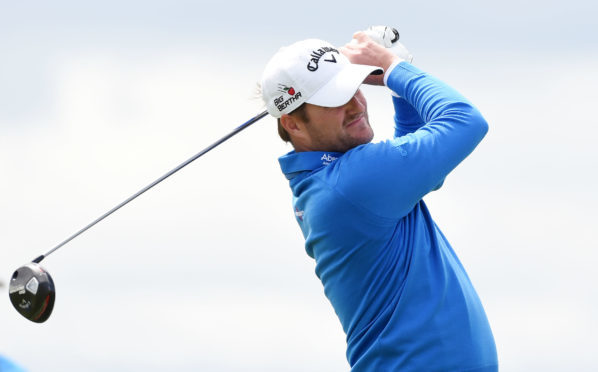 Marc Warren finished T4 in the 2015 Scottish Open at Gullane.