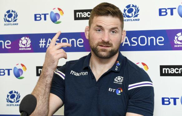Scotland's John Barclay.