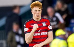 When Simon Murray left for another continent, he never envisaged returning to see Dundee United, Dundee and Arbroath fighting for same prize