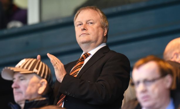 Dundee United chairman Mike Martin.