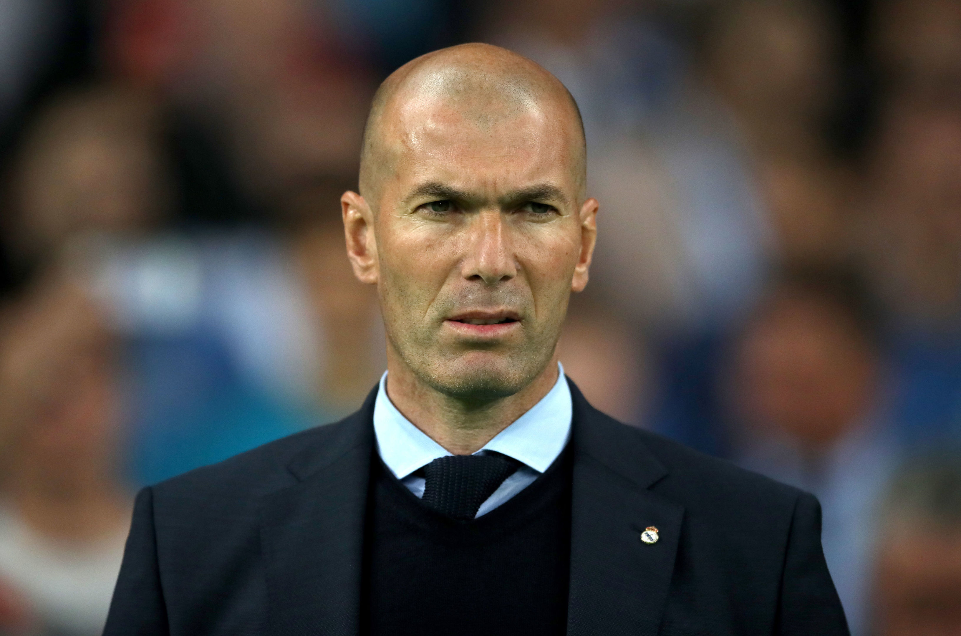 Zinedine Zidane is now in his second spell as Real Madrid manager.