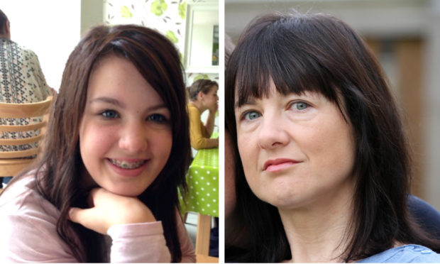 Ruth Moss (right) and her daughter Sophie Parkinson, who died in 2014 (left).
